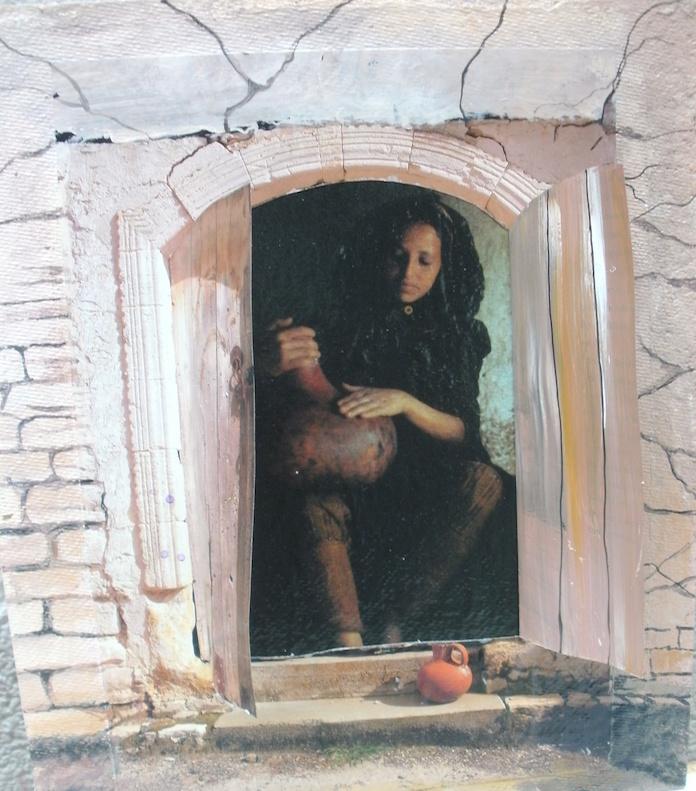 Die Frau im Fenster
