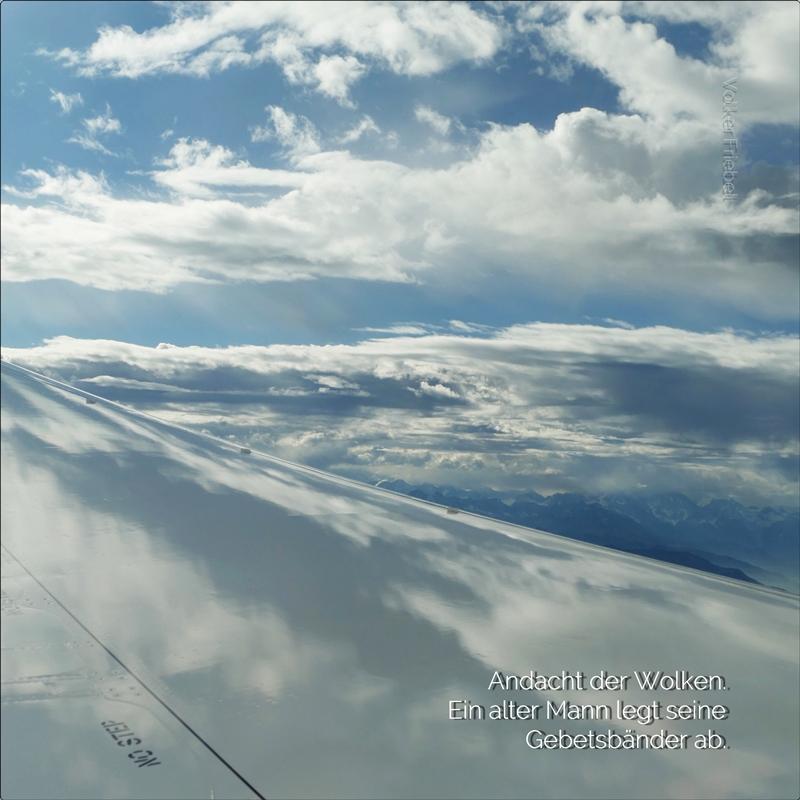 Friebel Andacht der Wolken
