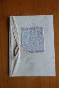 Geldgeschenk in Karte Textil 1